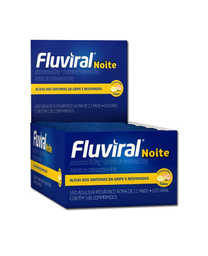 Compre 2 Ganhe 50% Fluviral Noite 4 Comprimidos