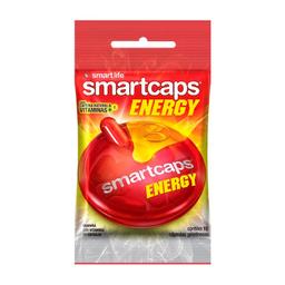 Energético Smartcaps Energy com 10 Cápsulas