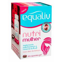 Equaliv Nutri Mulher 60 Cápsulas