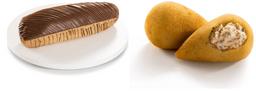 Coxinha de Frango e Catupiry + Eclair de Chocolate