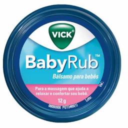 Descongestionante Vick Vaporub Baby 12 g