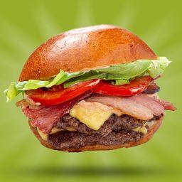 X-Double Salada Bacon - 8188
