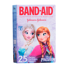 Curativo Band-Aid Frozen Com 25 Und