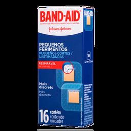 Curativo Band-Aid Transparente Com 16 Und