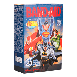 Curativo Band-Aid Vingadores Com 25 Und