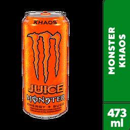 Energético Monster Jm Khaos Lata 473 mL