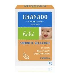 Sabonete Infantil Granado Bebê Camomila 90 g