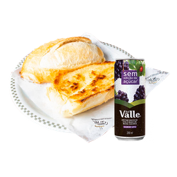 Pão na Chapa + Suco Dell Valle - 11409
