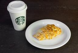 Café Latte Tall + Croissant