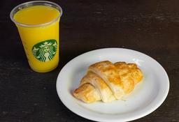 Suco de Laranja + Croissant