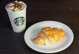 Triple Coffee Latte Tall + Croissant