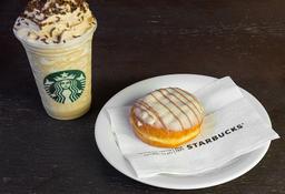 Triple Coffee Frappuccino Tall + Donuts de Doce de Leite