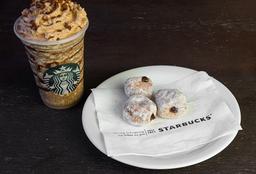 Frappuccino de Brigadeiro Tall + Mini Donuts com Nutella (trio)