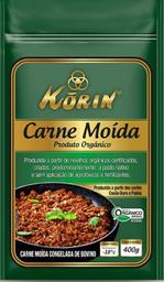 Carne Moída Orgânica Congelada Korin 400 g