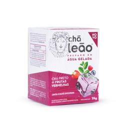 Chá Leão Gelado Preto E Frutas Vermelhas 25 g