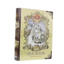 Chá Preto E Verde Formato De Livro Basilur Lt 56 g
