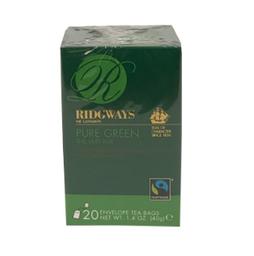 Chá Verde Pure Green 20 Unidades Ridgways