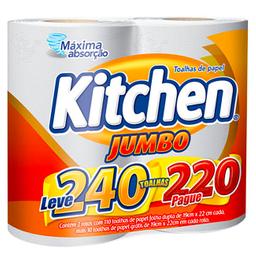 Toalha De Papel Kitchen Com 2 Und