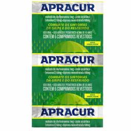 Apracur Revestidos 6 Comprimidos