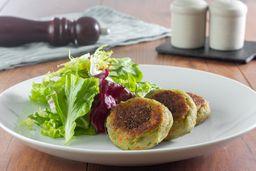 Burger Veggie + Mix De Folhas