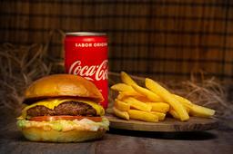 COMBO CLASSIC - 1x Burger, 1x batata frita e 1x refri