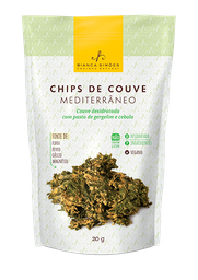 Bianca Simões Chips de Couve Mediterrâneo