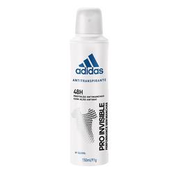 leve 3 - Desodorante Adidas Aerosol Feminino 48H Pro Invisible