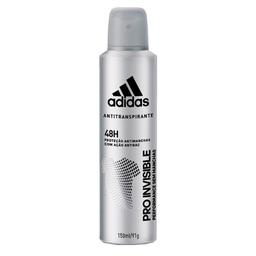leve 3 - Desodorante Adidas Aerosol Men 48H Pro Invisible 150 mL