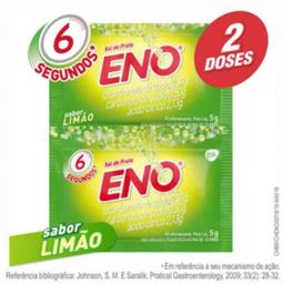 Leve 4 Pague 3 Sal De Fruta Eno Limão Efervescente 2 x 5 g