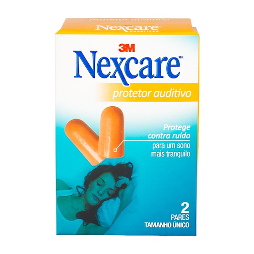 Protetor Auditivo Nexcare 2 Pares