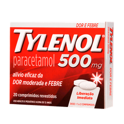 Tylenol 500Mg 24Cart C/ 20Cp
