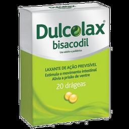 Dulcolax 5MG 20 Drágeas