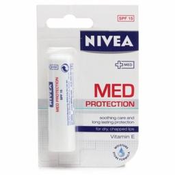 Protetor Labial Nivea Med Protection FPS 15 4,8 g