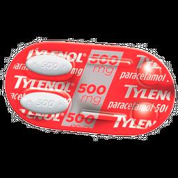 Tylenol Caplets 500Mg 3Cart C/ 100Cp