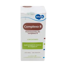 Complexo B Ems Com 20 Comprimidos