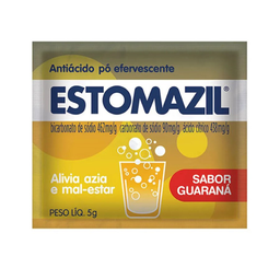 Estomazil Pó Guaraná 5 G 1 Envelope