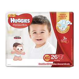 Fralda HUGGIES Supreme Care XG - 26 fraldas
