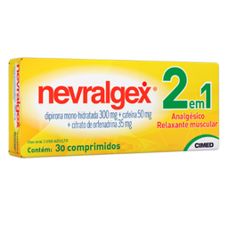 Nevralgex 30 Comprimidos