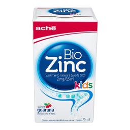 Vitamina Biozinc Kids Guaraná 2 mg 75 mL