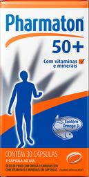Pharmaton +50 Com 30 Cápsulas