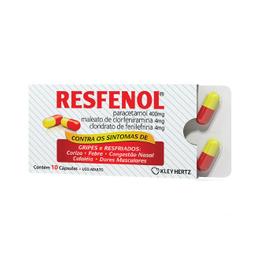 Resfenol 5 capsulas