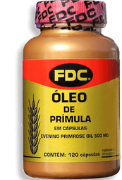 Óleo de Prímula FDC Com 120 Cápsulas
