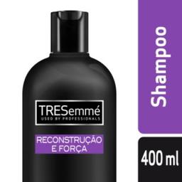 Shampoo Tresemmé Reconstrução e Força Cabelos Danificados
