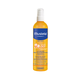 Protetor Solar Mustela Bebê e Infantil Spray FPS50