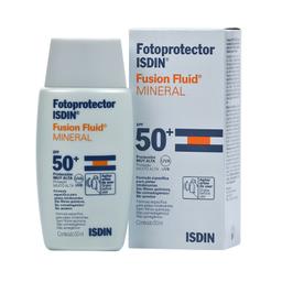Protetor Solar Isdin Fusion Fluid Mineral Fps50 50 mL
