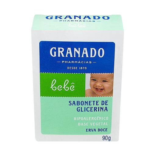 Sabonete Granado Infantil Glicerina Bebe Erva Doce 90 g