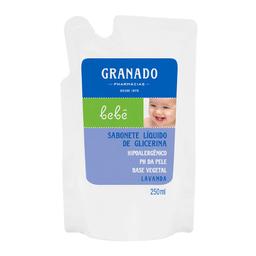 Sabonete Líquido Infantil Glicerina Granado Bebê Lavanda