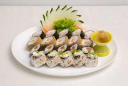 Combo Sushi - 10 Peças e Refrigerante Pet