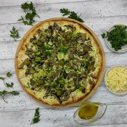 Pizza De Shitake - Shimeji