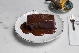 Bolo Double Chocolate Cake - Fatia